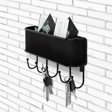 Key Organizer Rack Letter Sorter Mail and Key Holder Entryway Wall Mounted NEW