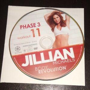 Jillian Michaels Body Revolution Phase 3 Workout 11 Replacement DVD Disc