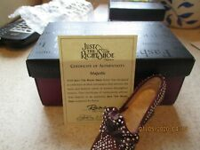 Just The Right Shoe Majestic 25039 New In Box With Coa & Booklet