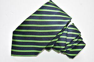 """HUGO BOSS STRIPED/BLUE Men's Neck Tie W: 3"""" by L:61"""""""