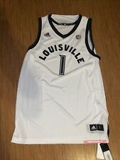 ADIDAS LOUISVILLE CARDINALS MEN'S BASKETBALL JERSEY Large NEW RARE ACC College