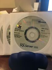 Brand New Microsoft  SQL Sever 2005. MSDN Library 3 cds. NFR