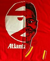 Brand New Rare NBA Atlanta Hawks/Dominique Wilkins Red T-Shirt Men's XL