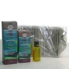 Teadora Brazilian Glow Radiance Renewal Oil Revitalizing Scrub & Body Oil w gift