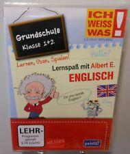 Englisch Software Schule PC & MAC CD-ROM Lernspaß Grundschule 1.+2. Klasse T99