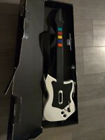 Red Octane Wireless White Guitar Hero Controller Playstation 2 PS2 *NO DONGLE*
