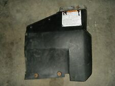 2001 Yamaha Grizzly 600 ATV Rear Left Over Fender 1 Lower Mud Flap