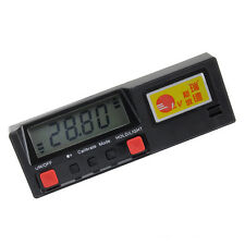 Portable 360 Degree Magnetic Digital Level Inclinometer Protractor Measurement T