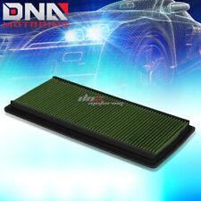 FOR 98-02 CHEVY CAMARO V6/V8 GREEN REPLACEMENT RACING FLOW DROP IN AIR FILTER