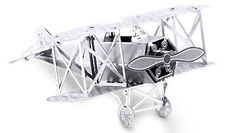 3-D Laser Cut Model - Fokker Bi-Plane Amazing Detailed DIY Model METAL MARVEL-BP