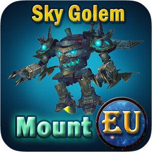 Sky Golem ✯ WoW Mount ✯ All EU Servers ✯ World of Warcraft