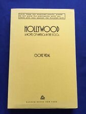HOLLYWOOD. A NOVEL OF AMERICA IN THE 1920S - UNCORRECTED PROOF BY GORE VIDAL