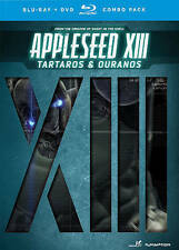 Appleseed XIII: Tartaros & Ouranos (Blu-ray/DVD, 2014, 3-Disc Set)