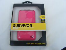 NEW GRIFFIN SURVIVOR SKIN FOR IPOD TOUCH 4TH GENERATION