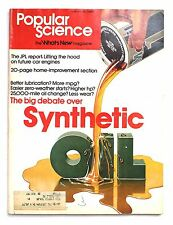 Popular Science APRIL 1976 The Big Debate Over Synthetic 20 Page Home Improvemen