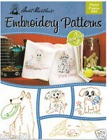 Cat of All Trades Aunt Martha/'s Hot Iron Embroidery Transfer #3975