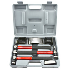 Neiko  Heavy Duty Auto Body Hammer and Dolly Set, 7 Piece | Repair Kit for Dents