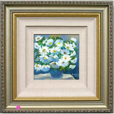 """"""" Marguerite BOUQUET """" par HEDDY Kun signée acrylique sur toile"""