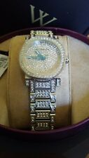 Wittnauer WN4003 Crystal Accent Watch with Silver-Tone Dial Ladies Watch