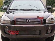 Fits 2005-2009 Hyundai Tucson Main Upper Billet Grille Insert