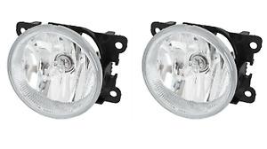 Peugeot 208 2012-2019 Front Fog Lights Light Lamp Left & Right (Set)