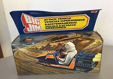 1984# VINTAGE BIG JIM MATTEL ATTACK VEHICLE  VEICOLO SUPERSONICO#NIB