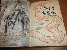 Book. Australia. Song of the Snake. Eric Worrell. Aborigine Marawana Queensland