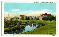1945 University of North Dakota Campus, Grand Forks, ND Postcard