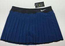 Nike Women's NikeCourt Victory 13 Inch Tennis Skort728773-423 Large  Coastal Blu