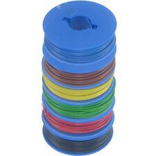 6 x 10m Litze 0,14mm² auf Spulen 6 Farben deutsche Qualität bl-bn-gl-gn-rt-sw