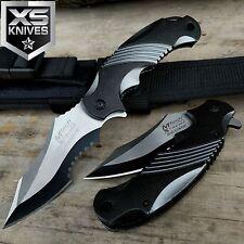 "8.5"" MTech Xtreme BALLISTIC TACTICAL Spring Assisted Flipper Pocket Knife COMBAT"