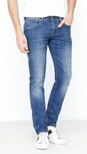 PEPE Jeans Spike ca1 REGULAR WAIST SLIM FIT JEANS BLU SCURO dimensioni 30//32 33//34