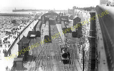 Ramsgate Harbour Railway Station Photo. Broadsrairs and Margate Line. SE&CR. (9)