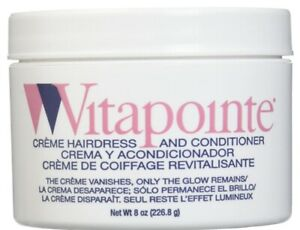 VITAPOINTE BY CLAIROL CREME HAIR DRESS & CONDITIONER 8OZ FREE SHIPPING!
