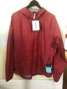 New-Old-Stock BONTRAGER Avert Rain Jacket - Large - Red - BOA Hood