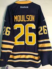 Reebok Premier NHL Jersey Buffalo Sabres Matt Moulson Navy sz L