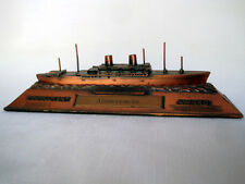 SS PRESIDENT CLEVELAND--Metal Ship Model Trophy,1950s--American President Lines