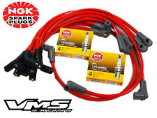 VMS RACING 10 MM SPARK PLUG WIRE SET 94-96 CHEVROLET CAPRICE LT1 W/ NGK PLATINUM