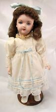 "14"" HEINRICH HANDWERCK 109 7-1/2 Character Antique Reproduction Porcelain Doll"