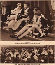 CORONATION 1937. Tired pp. Peers seek their cars, passing through crowds 1937
