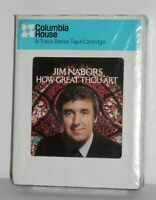 JIM NABORS HOW GREAT THOU ART 8 TRACK Stereo TAPE Columbia NOS Factory Sealed