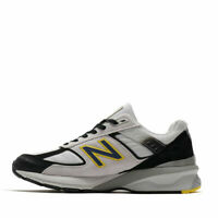 New Balance Men's 990v5 Made in USA Size  8 Shoes Silver/Black/Yellow M990SB5 D