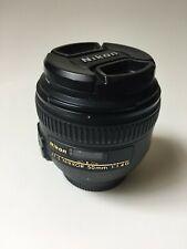Nikon NIKKOR 50mm f/1.4 AF-S Autofocus Lens for DX Crop Sensor Nikon Cameras