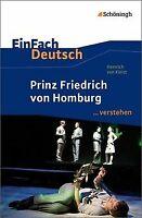 EinFach Deutsch ...verstehen. Interpretationshilfen: Ein... | Buch | Zustand gut