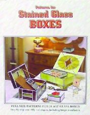 Stained Glass Pattern Book - STAINED GLASS BOXES