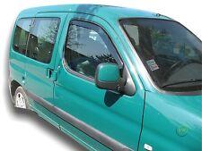 CITROEN Berlingo 3-Door 1997-2002 Set di Deflettori vento anteriore 2pc HEKO colorata