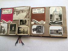 Antique Vintage Photo Album Old Photos trip Sydney to Adelaide 1946 DC2 Plane