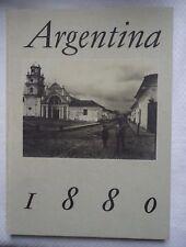 ARGENTINA 1880 CONCURSO LOS LIBROS MEJOR EDITADOS E IMPRESOS HARDCOVER BOOK