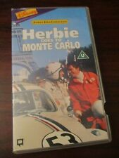 Herbie Goes to Monte Carlo  VHS Video Tape  (NEW)