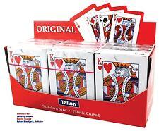Cubierta de plástico recubierto de calidad de tarjeta de juego Original Estándar Poker-WH2 R4B: nuevo